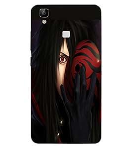 ColourCraft Lord Shiva Design Back Case Cover for VIVO V3 MAX