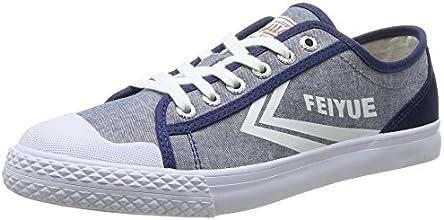 Feiyue Fe Lo II Selvedge, Baskets mode mixte adulte - Bleu (Blue/White), 40 EU