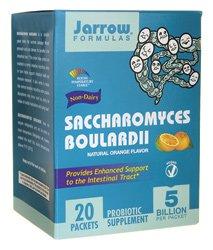 Saccharomyces Boulardii - Jarrow Formulas - 20 - Packet