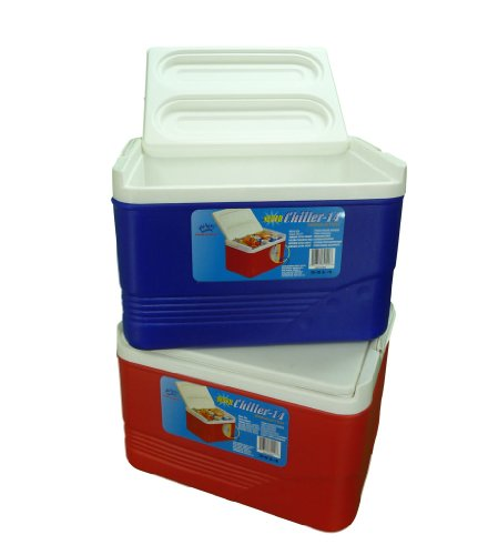 8d2aff2c749 Blue Super Chiller 6 Litre Insulated Cool Box Cooler Party Picnic Beach  Travel