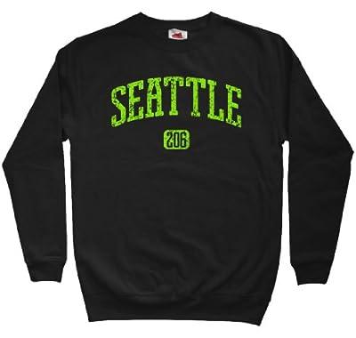 Smash Vintage Men's Seattle 206 Sweatshirt