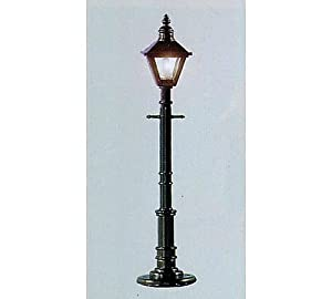 O Old Time Gas Lamp Post, Square/Gray (3)