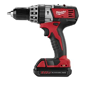 Milwaukee 2602-22CT M18 18-Volt Cordless 1/2-Inch Hammer Drill/Driver Kit