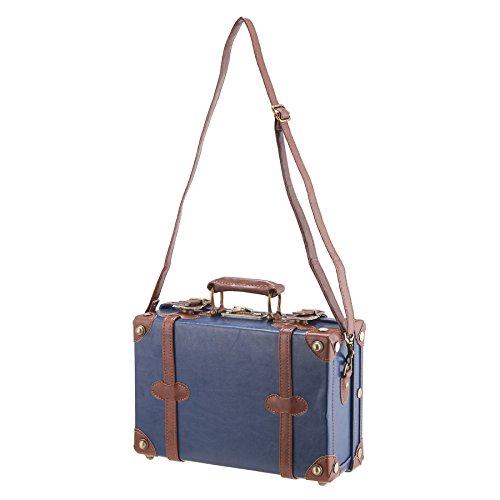 "CO-Z Premium Vintage Luggage Set 24"" TSA Locks Wheel Suitcase with 12"" Hand Bag 5"