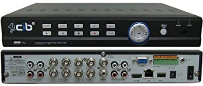 CIB J960H08N1000G 960H HDMI High Resolution 8 CH Network Security Surveillance DVR w/ 1000GB
