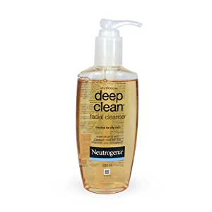 Deep clean facial wash