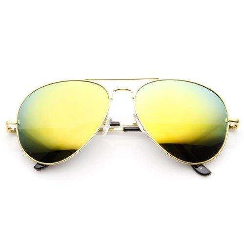 aviator mirror sunglasses  color mirror