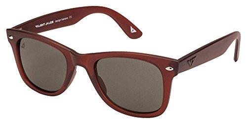 Vincent Chase VC 5147 Matte Maroon Green C36 Wayfarer Sunglasses (105663)