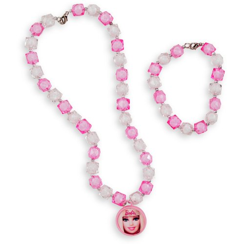 Barbie All Doll'd Up Bracelet & Necklace Set