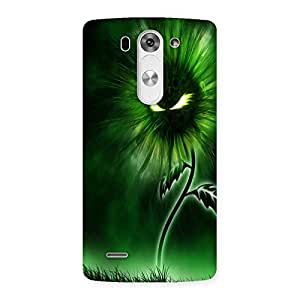 AJAYENTERPRISES Cool Green Face Back Case Cover for LG G3 Mini
