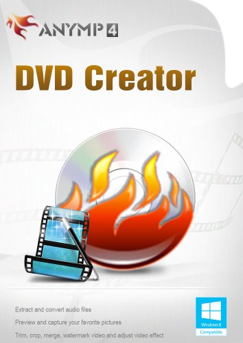 AnyMP4 DVD Creator 1 Year License - The most effective software to converter your video to DVD discs, DVD folders or DVD ISO files [Download] (Video Converter Program compare prices)