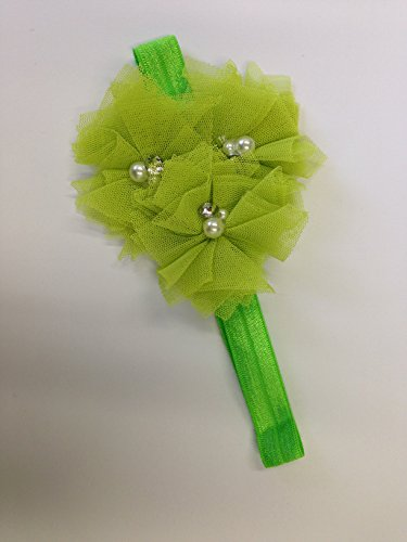 Headband Queen Baby Girl Headbands Hairbands (Lime #4) - 1