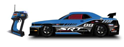 NKOK Urban Rides Dodge Challenger SRT8 Remote Controlled Vehicle, 1:10 Scale (Colors May Vary)