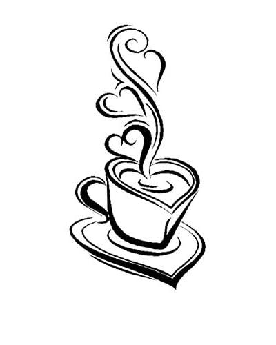 LO+DEMODA Vinilo Decorativo Coffee