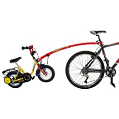 Trail Gator Bicycle Tow Bar in Black, Red, or Blue by Trail-Gator