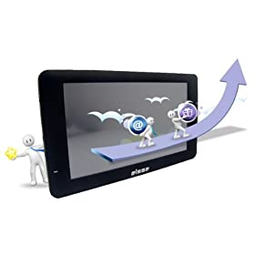 Elsse (TM) 7-Inch Internet Touchscreen Tablet with Built in GPS, WIFI, 3G Module and Cellphone Module - Black