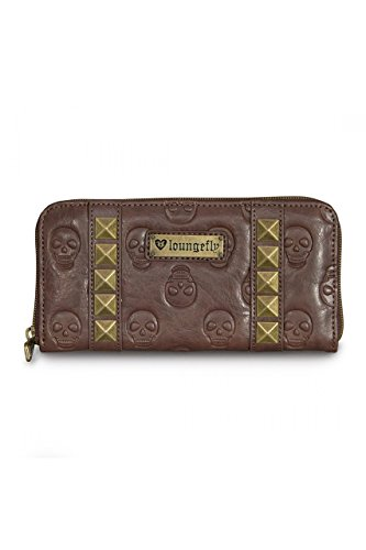 loungefly-brown-skull-pyramids-wallet