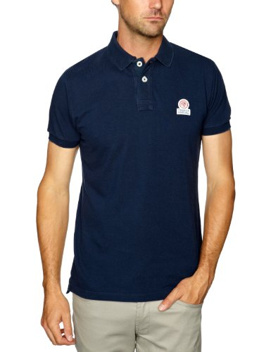 Franklin & Marshall POMR262W12 Polo Shirt Men's T-Shirt Navy Medium