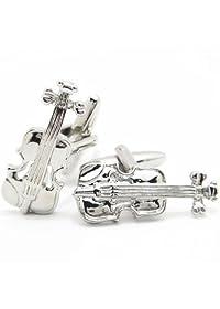 【Dandeon】袖元をクラシックにバイオリンのカフス(カフリンクス/カフスボタン)