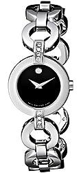 """Movado Women's 606263 """"Belamoda"""" Stainless Steel Bracelet Watch"""