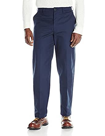 Red kap men 39 s wrinkle free work pants clothing for Wrinkle free dress shirts amazon
