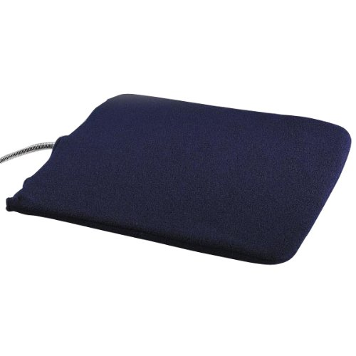 Slumber Pet Fleece Heated Kennel Pad Cover, Small front-684435