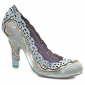 Amazon.co.uk: Irregular Choice Iced Gem: Shoes & Accessories :  blue detail fairytale cute