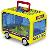 Crittertrail Off to School Bus Hamster Cage Gerbil Mice
