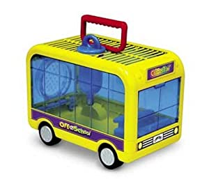 Super Pet Small Animal Critter Trail Off To School Habitat, Colors Vary