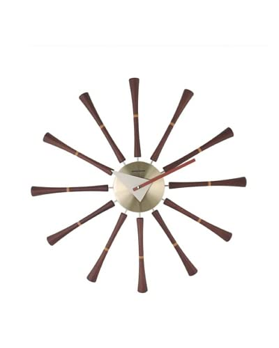 George Nelson Spindle Wall Clock