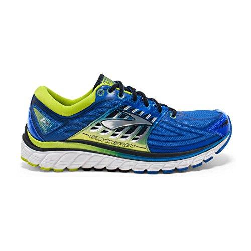 BrooksGlycerin 14 - Scarpe Running Uomo , multicolore (Mehrfarbig (blau/gelb)), 42,5