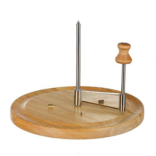 Cortadora Girolle para queso - hecha de bambú