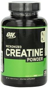 Optimum Nutrition Micronized Creatine Powder Unflavored 150 Grams