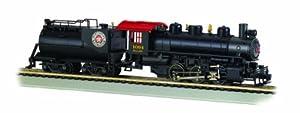 Bachmann Industries USRA 060 Steam Locomotive with Smoke and Vanderbilt Tender Seaboard #1094 HO Scale Train Car