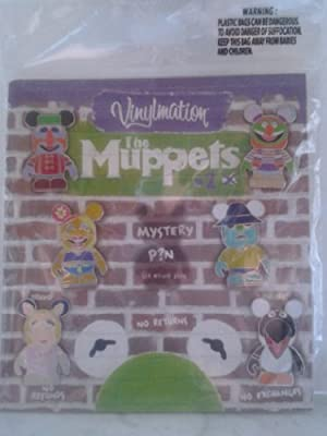 Disney Parks the Muppets #2 Vinylmation 7pc Pin Set