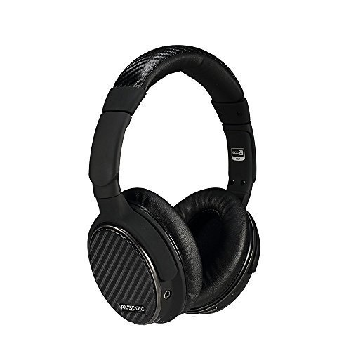 Ausdom M05 Over Ear Wireless Bluetooth Headphones With Microphone for Music Streaming & Hands-free Calling High Definition Stereo Headset (Black)