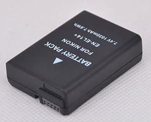 NEW En-el14 Battery for Nikon D3100 D3200 D5100 Coolpix P7000 P7100 Camera Enel14 Decoding