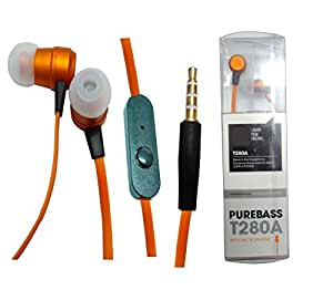 Shopkeeda Powerful Base Earphone For Intex Aqua V 3G