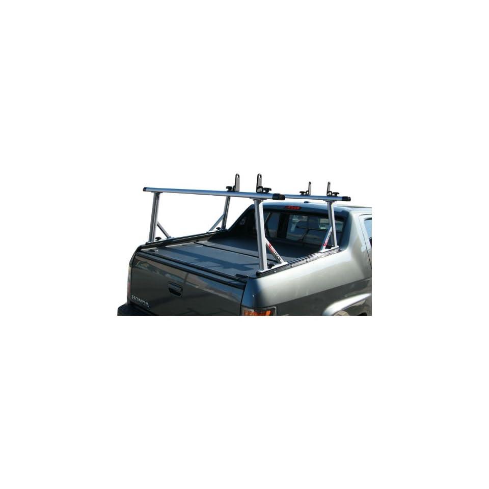 Black Honda Ridgeline ladder rack Gen4 65 Cross B