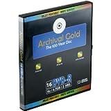 Delkin DDVD-R-I/10 BIND 8X 100 Year Life Span Archival Gold Inkjet DVD-R (10 Pack Binder)