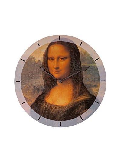 Artopweb Wanduhr Da Vinci Mona Lisa