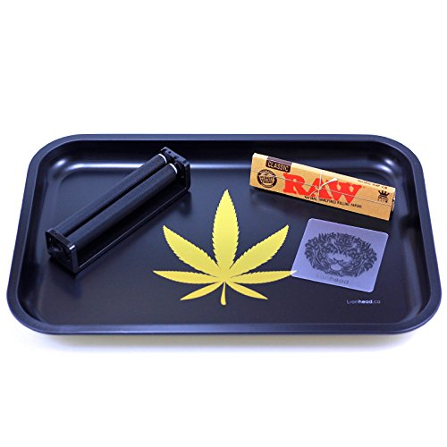 Full-Size-Rolling-Tray-Bundle-12-x-8-Tray-110mm-Rolling-Machine-King-Size-Raw-Rolling-Papers-Lionhead