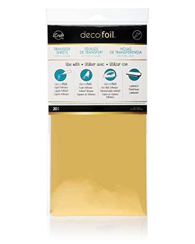 Therm O Web Deco Foil (Pack of 20),