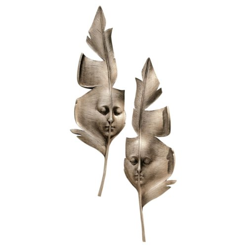 Design Toscano Aurora and Hespera Sculptural Wall Masks