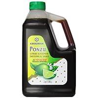 Kikkoman Ponzu Lime Plastic FS Bottle, 64 Ounce