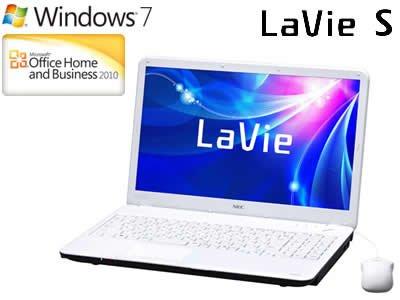 NEC LaVie SスノーホワイトPC-LS150ES6W