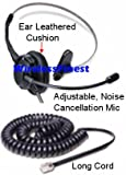 Replacement T100 Headset Headphones Ear Phone for Nortel Networks Nt Nothern Telecom Meridian PBX Norstar M7208 M7310 M7324 T7208 T7316 M7900 Nec Electra Elite DTU DPT Series E Mitel Siemens Rolm Polycom Toshiba Avaya Lucent Voip Ip Telephone NEW