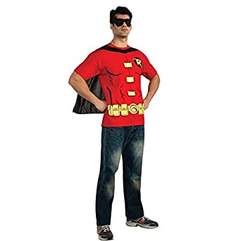 Robin From Batman Womens T-Shirt Costume Kit