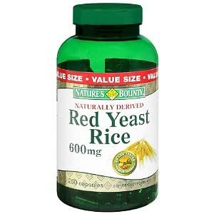Amazon.com: Nature's Bounty Red Yeast Rice 600 mg Dietary
