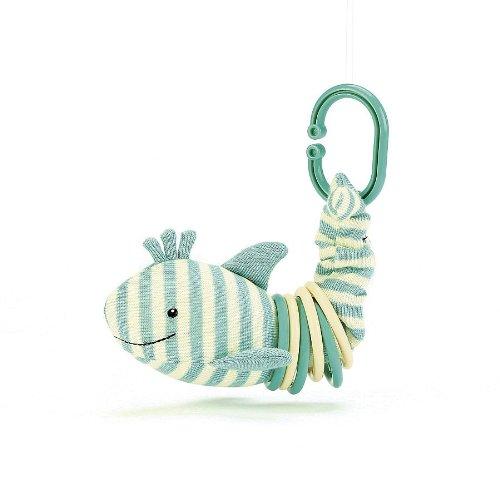 "Jellycat® Sidney Shark Clicketty - 6"" front-781487"